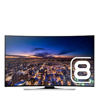 "UE55HU8205T 55"" Curved Smart UHD 4K LED TV HU8205"
