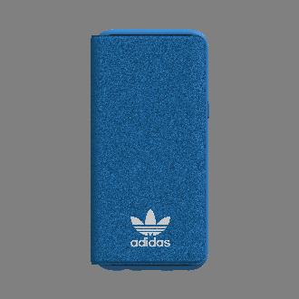 갤럭시 S8 플러스 아디다스 오리지널 베이직 로고 북 커버 블루