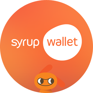 Syrup Wallet for Gear UI 입니다.