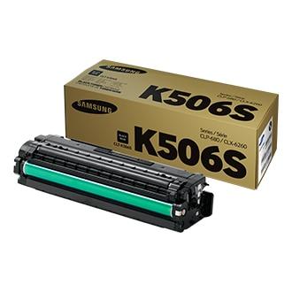 CLT-K506S 블랙 포장박스 앞면 왼쪽30도 위30도