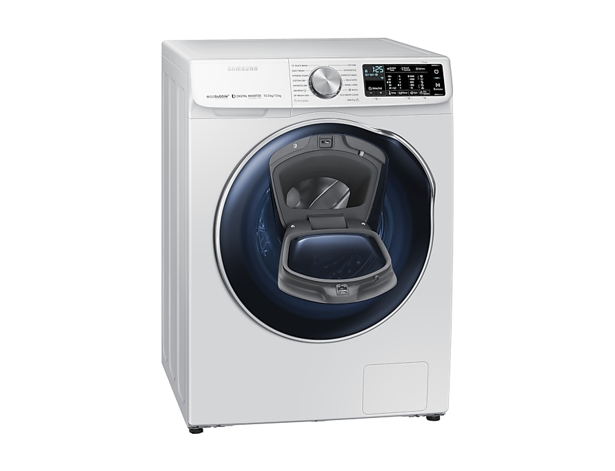 Samsung Combo Washing Machine l-perspective-open white