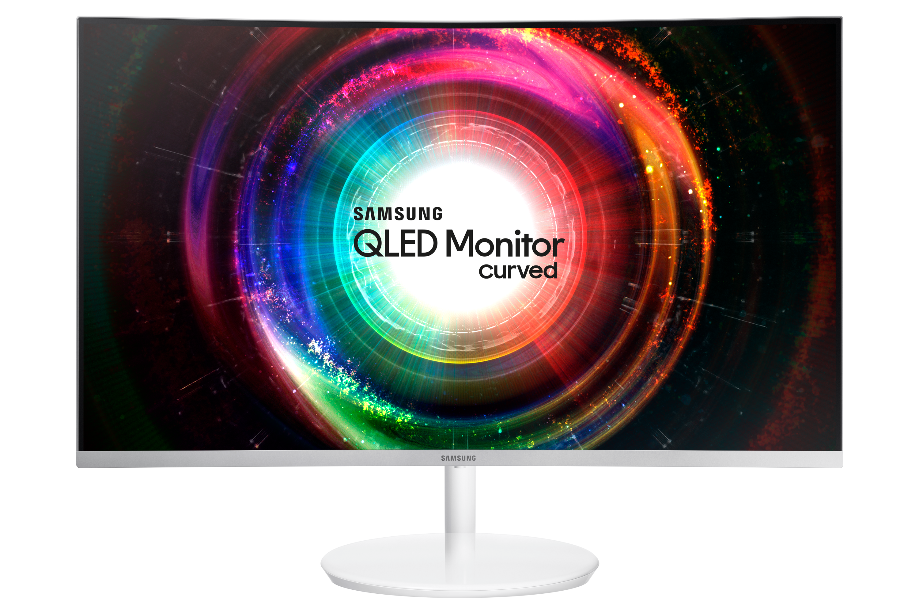 "31.5"" QLED Curved Monitor CH711 with WQHD resolution"