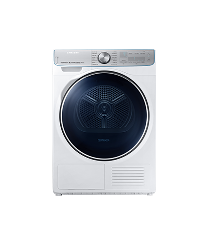 Samsung Dryer 9Kg  front white