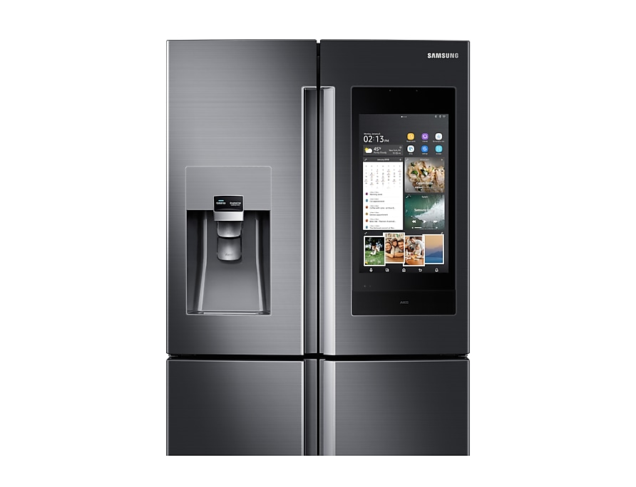 Samsung Family Hub refrigerator 550L detail-screen view