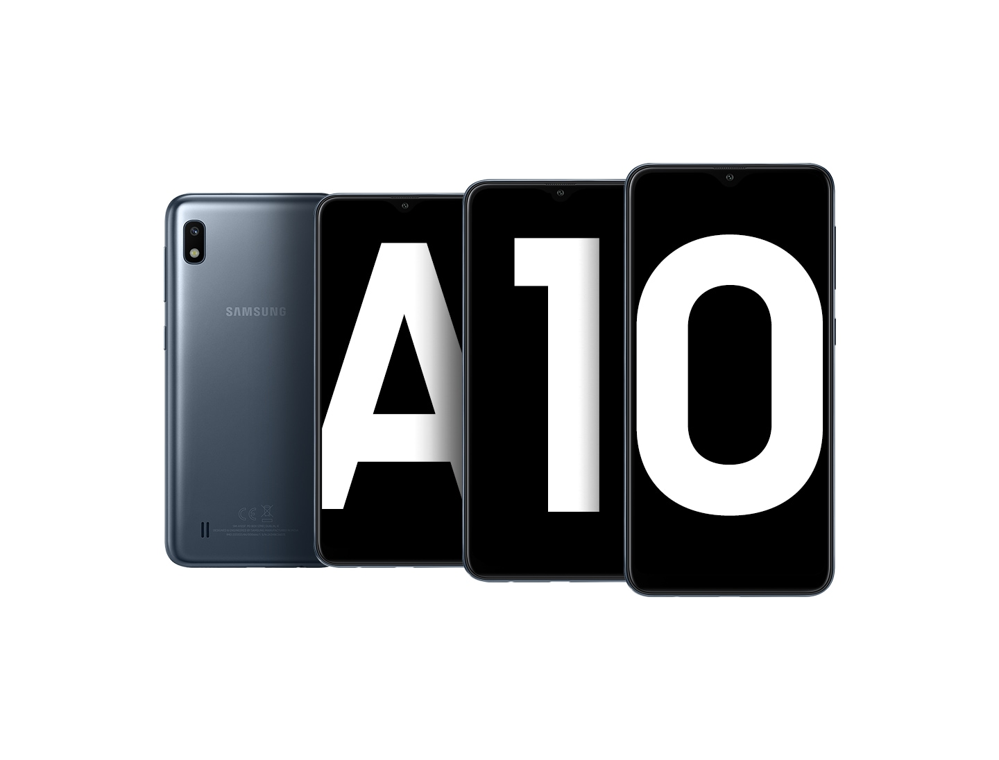 "Samsung Galaxy A10 with 6.2"" display"