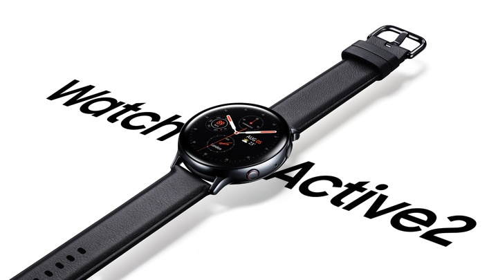 Samsung Galaxy Watch Active2 with Health tracker