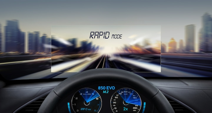 Increase memory storage with RAPID mode