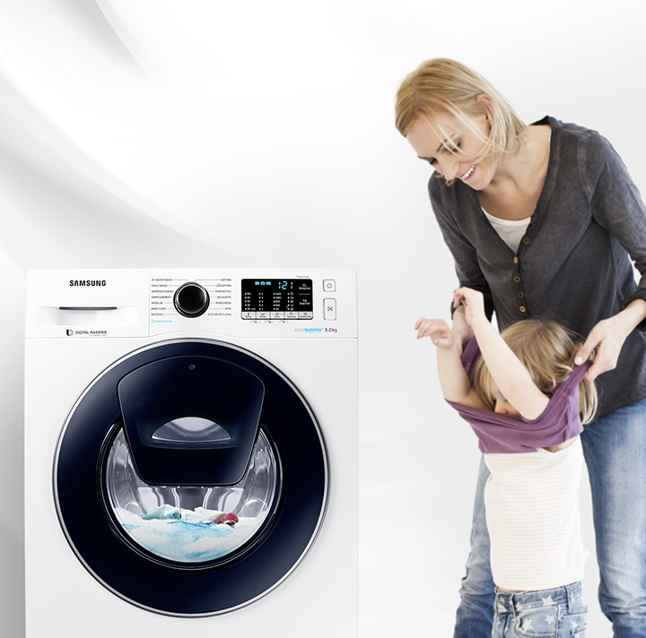 Samsung Front Load Washing Machine – AddWash