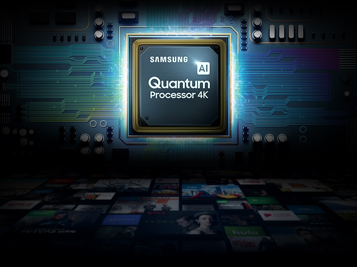 Quantum Processor 4K on Samsung Smart TV