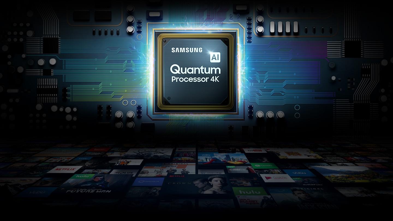 Quantum Processor 4K on Samsung Smart TV