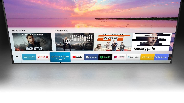Samsung UHD 4K Smart TV NU7103 Series 7 - an intelligent way to enjoy your Smart TV