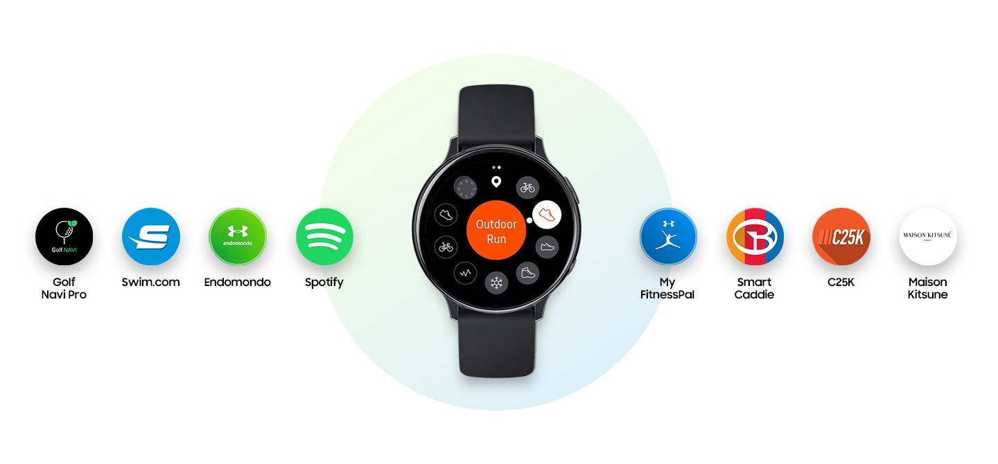 Samsung Galaxy Watch Active2 with 3rd party apps