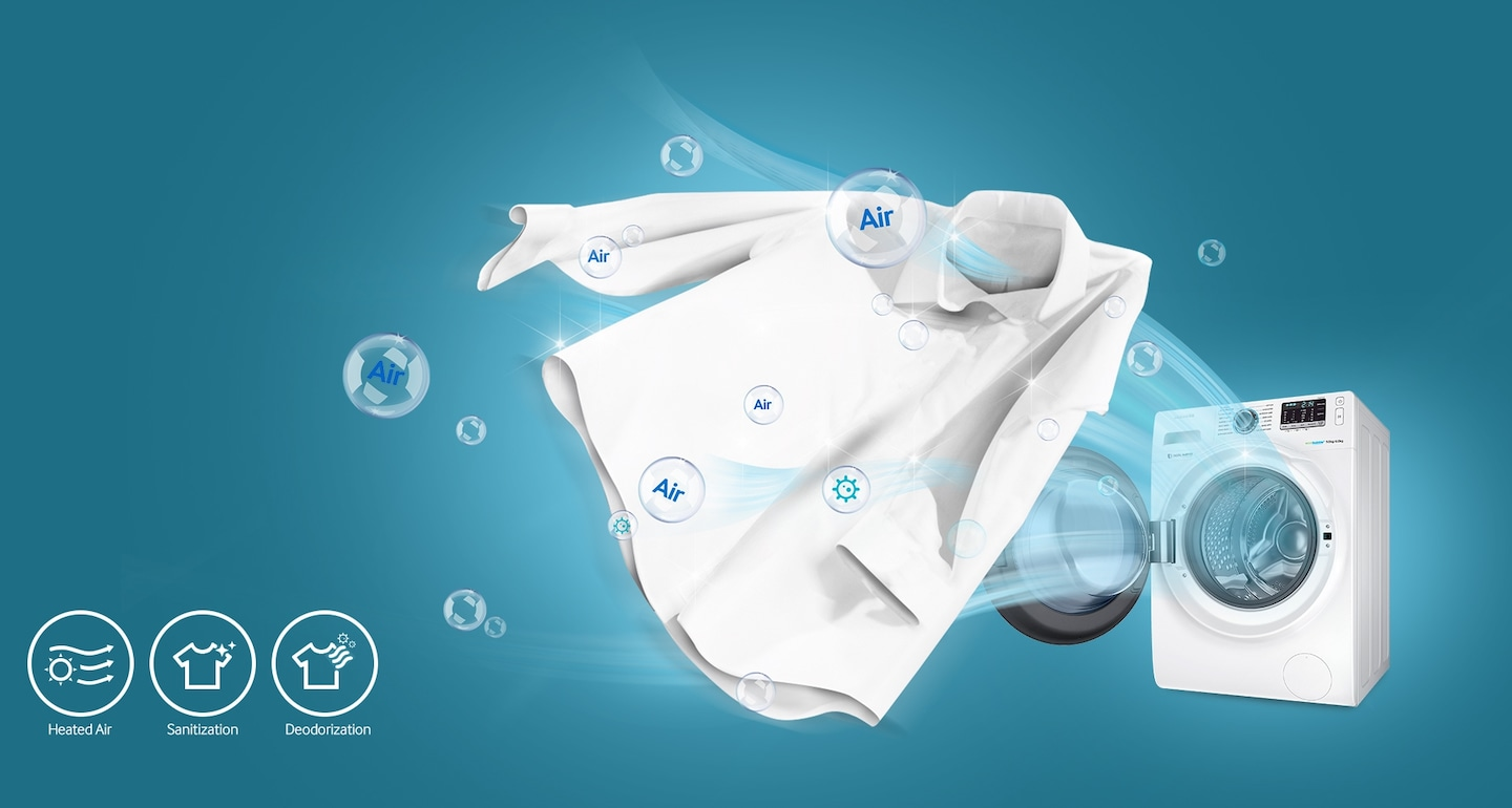 Freshen Clothes with Air Wash