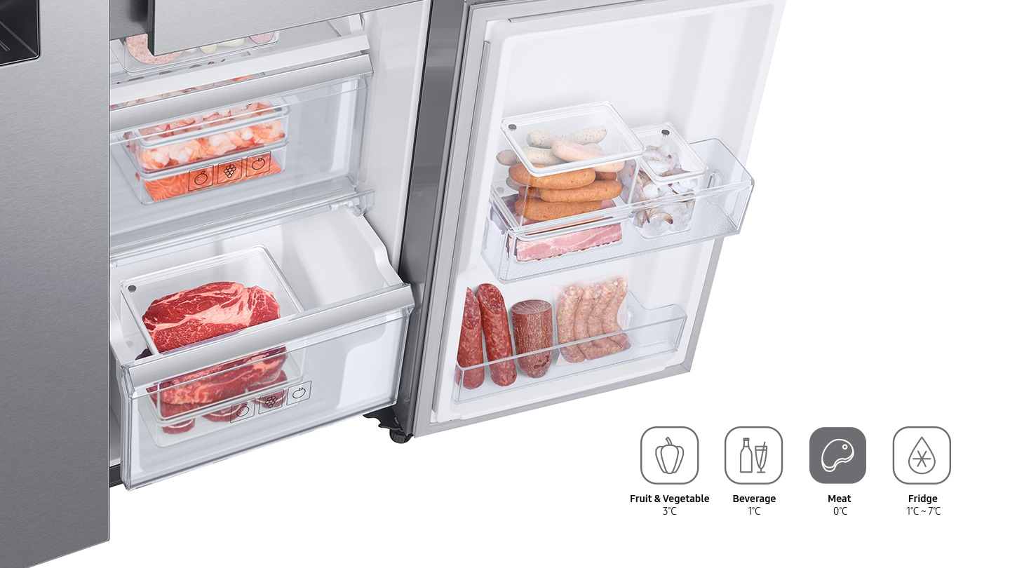 Convenient Switch Modes for flexible food storage options