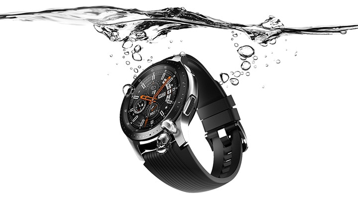 Samsung Galaxy Smart Watch Gear S4 – Water Resistance and Military Standard Durability