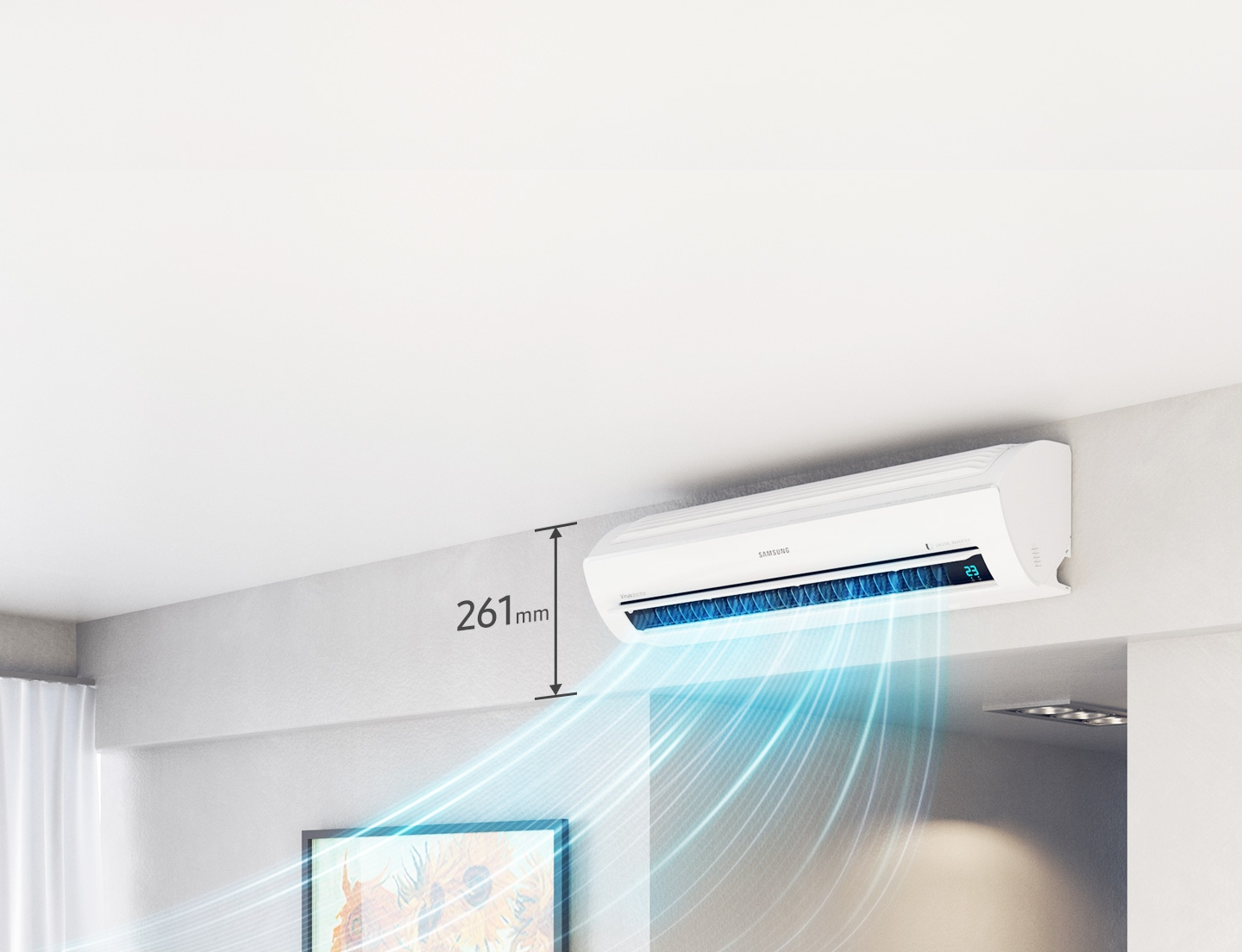 Samsung Aircon Easy to install