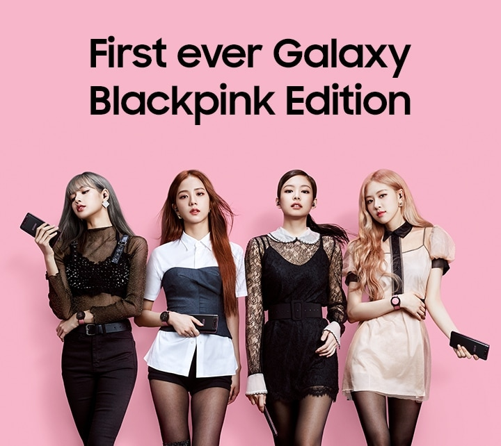 First ever Galaxy Blackpink Edition