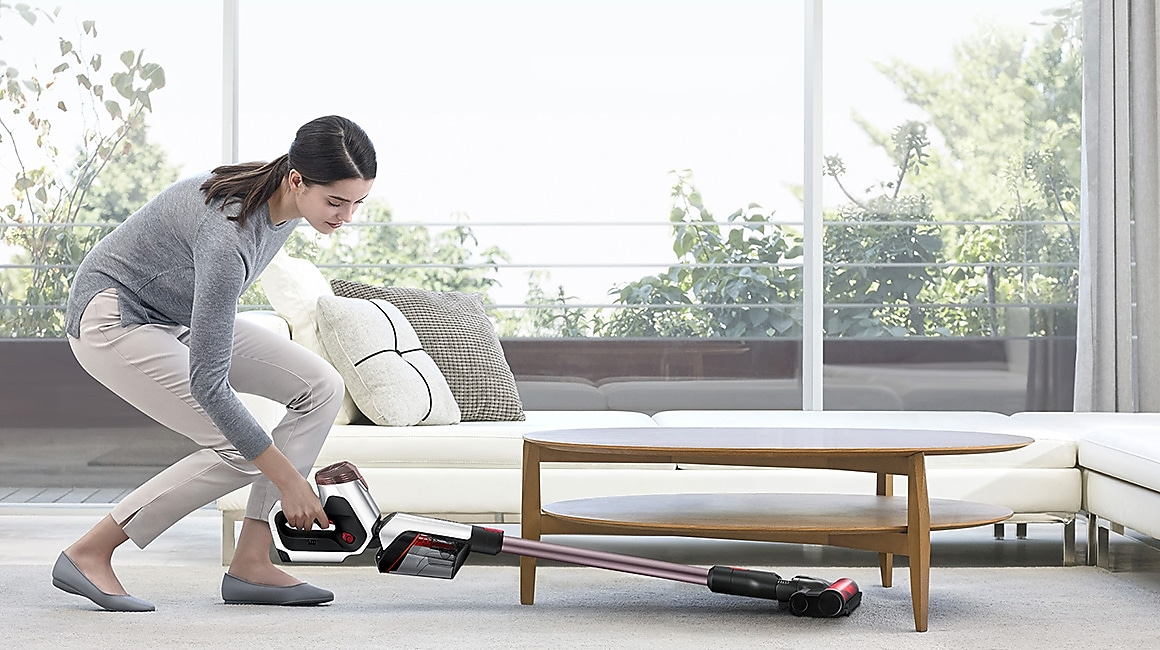 Samsung Vacuum Cleaner – POWERstick PRO Mini Motorised Tool Removes Dust on Furniture