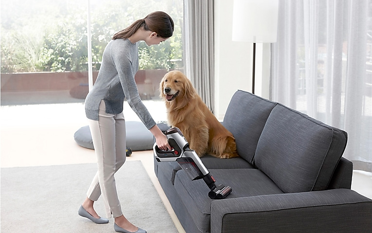 Samsung Vacuum Cleaner – POWERstick PRO Cleans Complex Areas