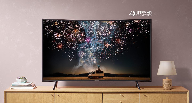 Samsung 4K UHD Curved Smart TV (RU7300)