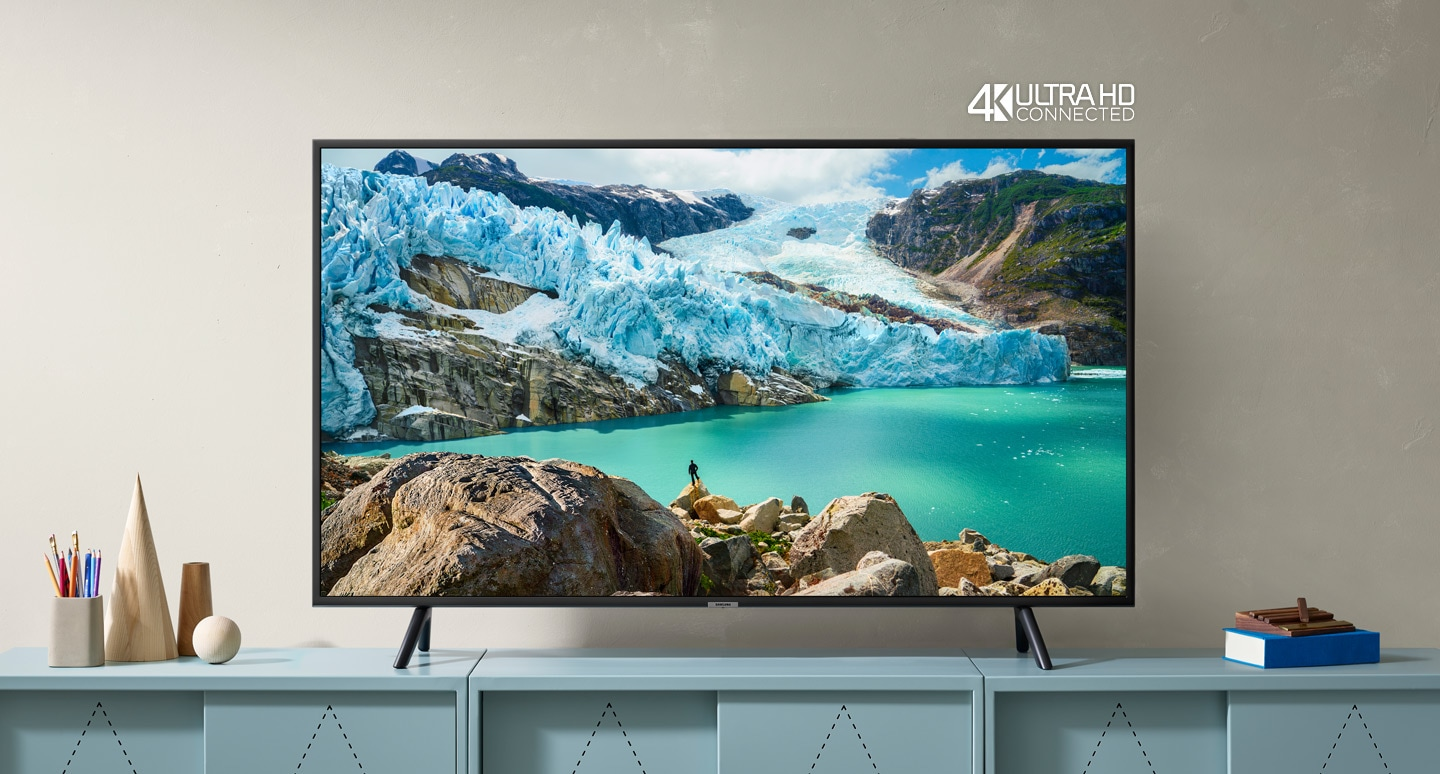 Samsung 4K UHD Flat Smart TV (RU7100)