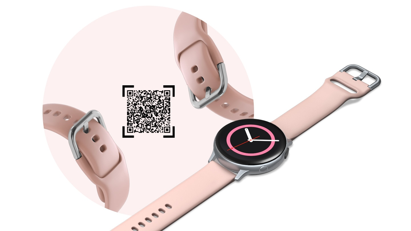Samsung Galaxy Watch Active2 with customizable watch face