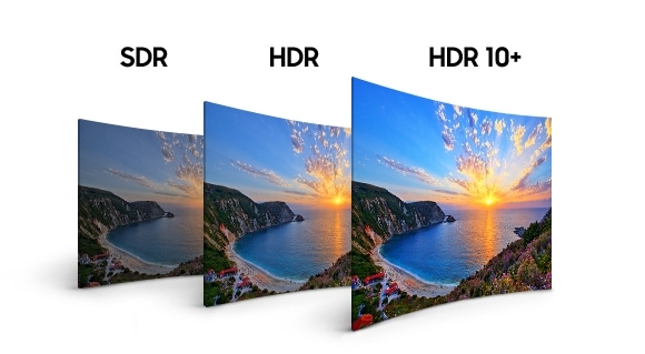 Samsung Premium UHD 4K Curved Smart TV NU8500 Series 8 HDR 10+ HDR 10+ brings all the pictures nuances to life