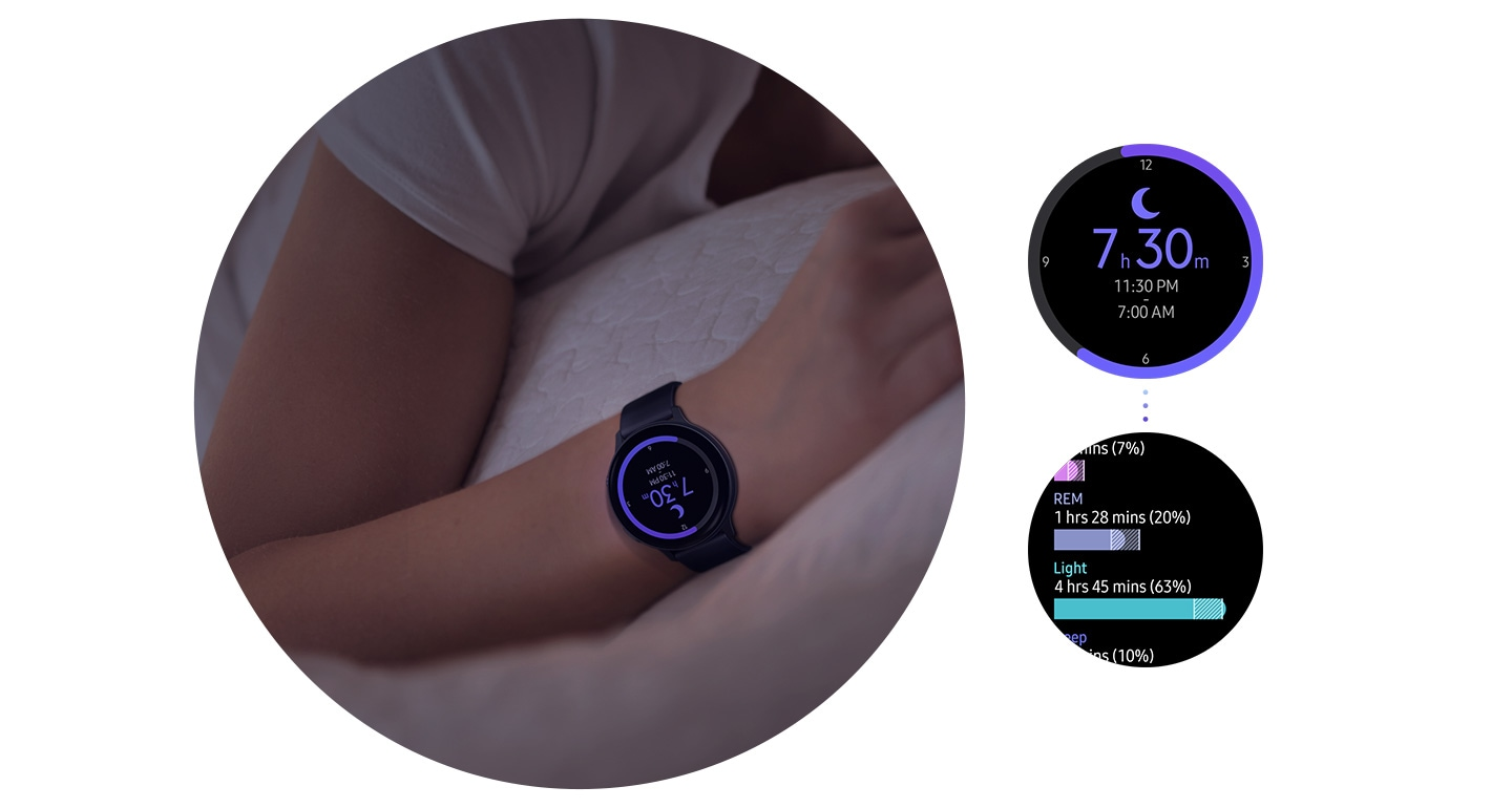 Samsung Galaxy Watch Active2 with Stress Monitor