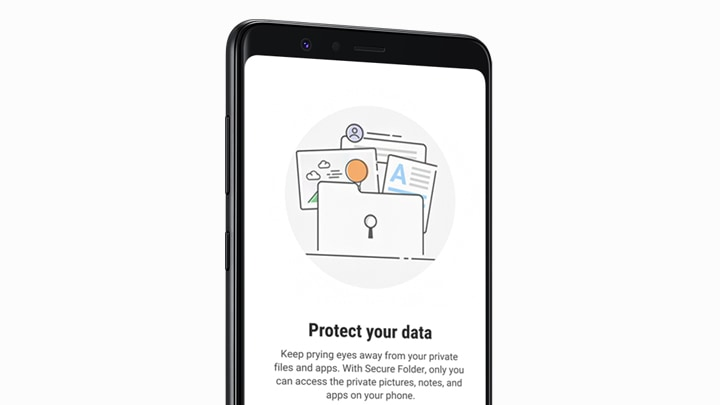Galaxy A8 Star with Samsung's Secure Folder