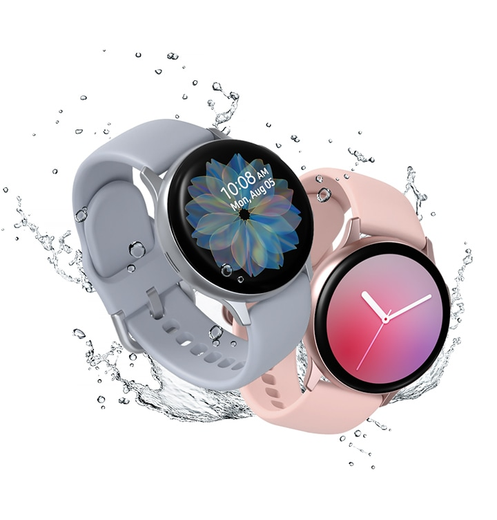 Samsung Galaxy Watch Active2 with IP68 rating