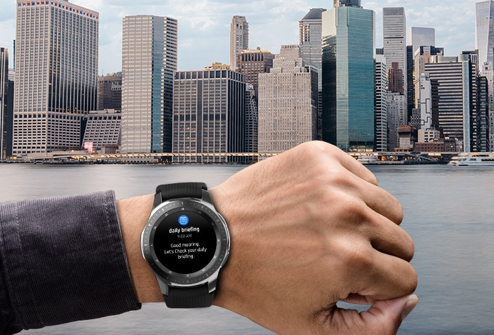 Samsung Galaxy Smart Watch Gear S4 – Daily Assistant