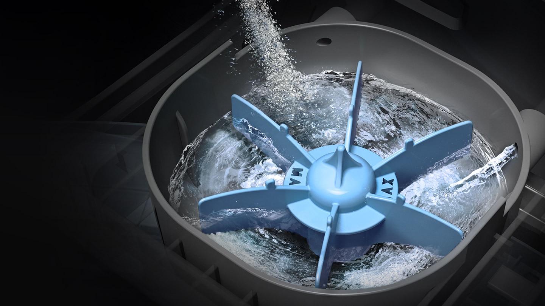 Samsung top load washing machine with Magic Dispenser