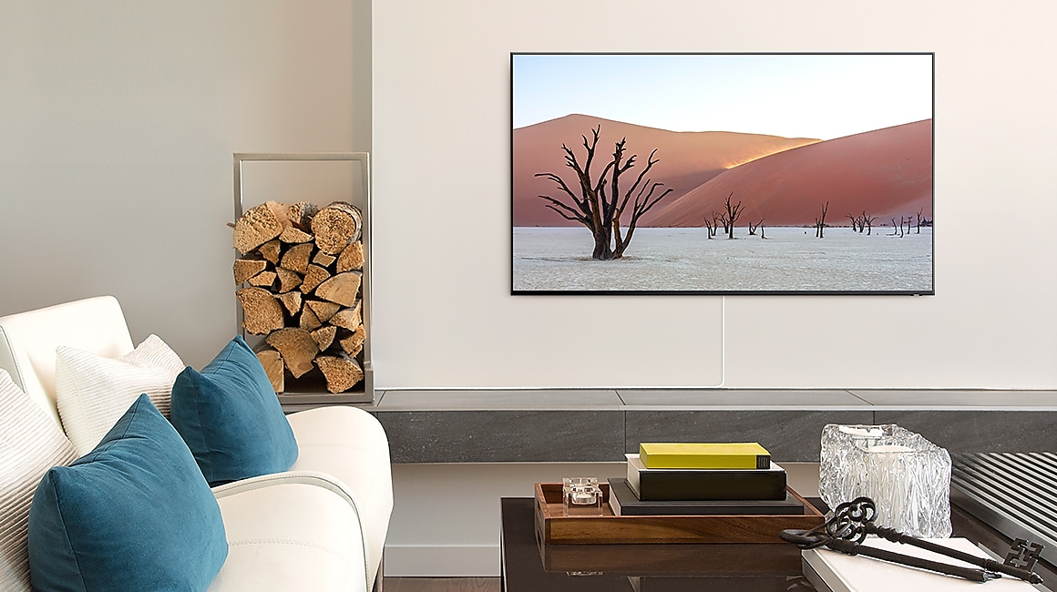 Samsung One Invisible Connection elevates your decor
