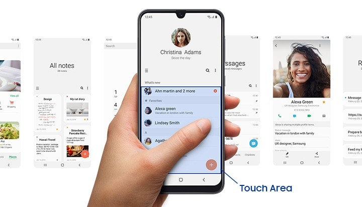 Samsung Galaxy A30 with One UI