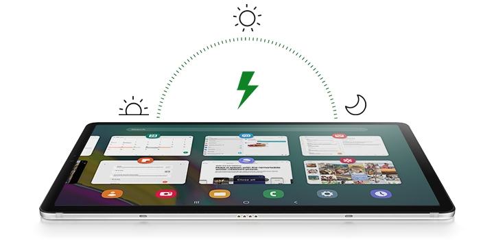 Samsung Galaxy Tab S5e with 7,040mAh fast charging battery
