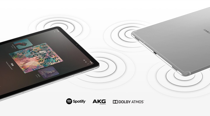 Galaxy Tab S5e with quad speakers & Dolby Atmos sound
