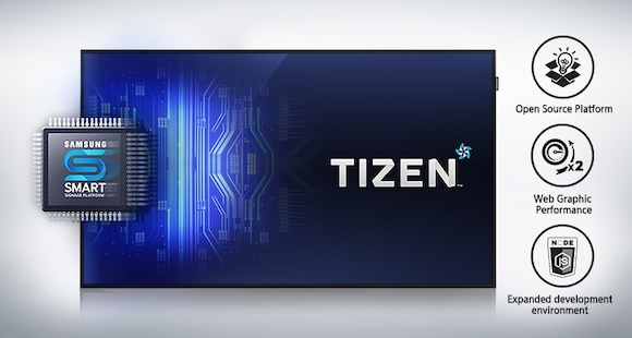 The all-new embedded media player powered by TIZEN<sup>TM</sup>