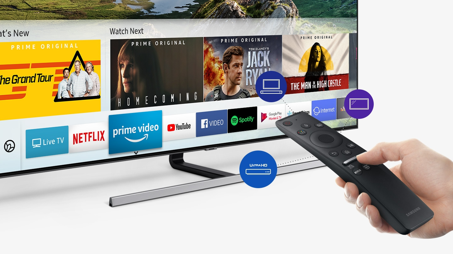 One Remote Experience with Samsung Smart TV