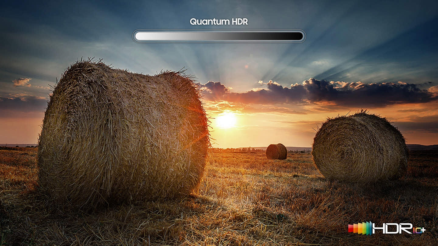 Enhanced images with Quantum HDR on Samsung TV