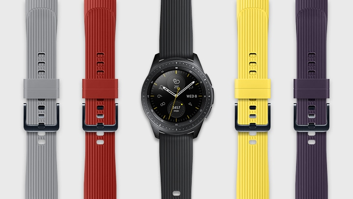 Samsung Galaxy Smart Watch Gear S4 – Choice of Straps