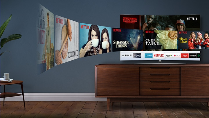 Samsung Smart TV netflix