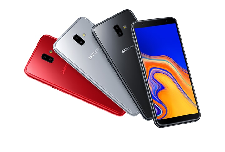 Samsung Galaxy J6+ - Smooth, Rounded-edge Design with Premium Glossy Finish