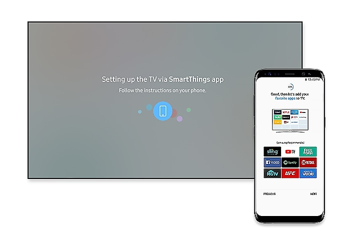 Easy Set-Up with SmartThings App