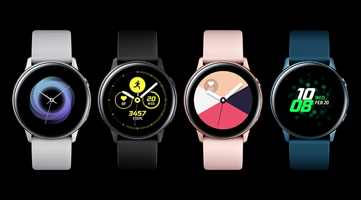 Galaxy Watch Active  Style that won't slow you down