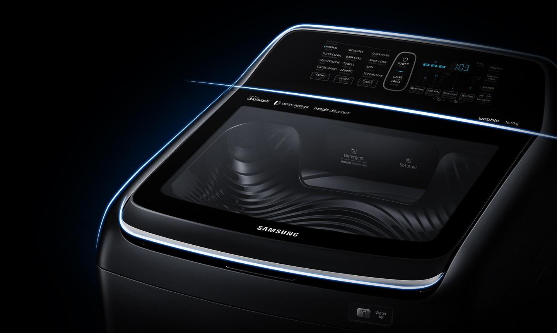 Samsung Activ Dualwash Top Load Washing Machine –  Stylishly Ergonomic