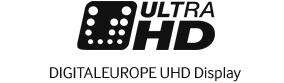 Logo Image of digital Europe UHD display