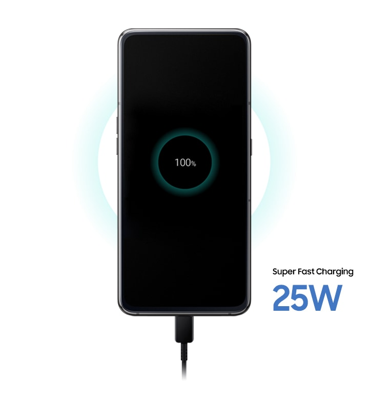 Samsung Galaxy A80 with 3,700 mAh super fast charging battery