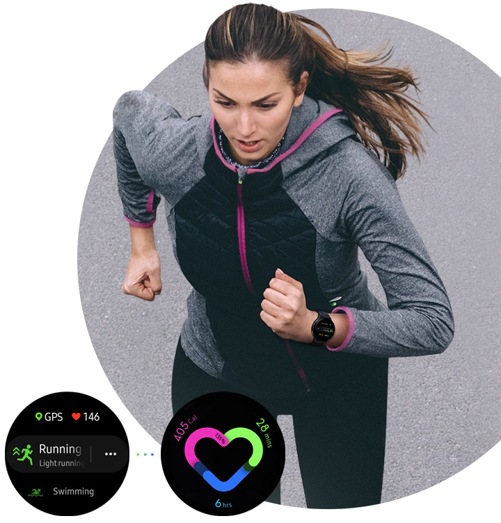 Samsung Galaxy Watch Active2 with Fitness tracker