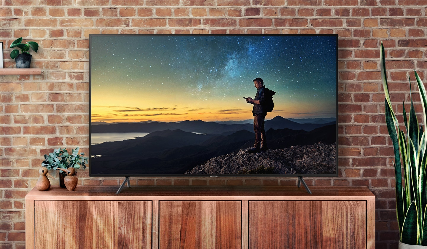 Samsung-Full-UHD-4K-Smart-LED-TV-43'' - get connected get more delight