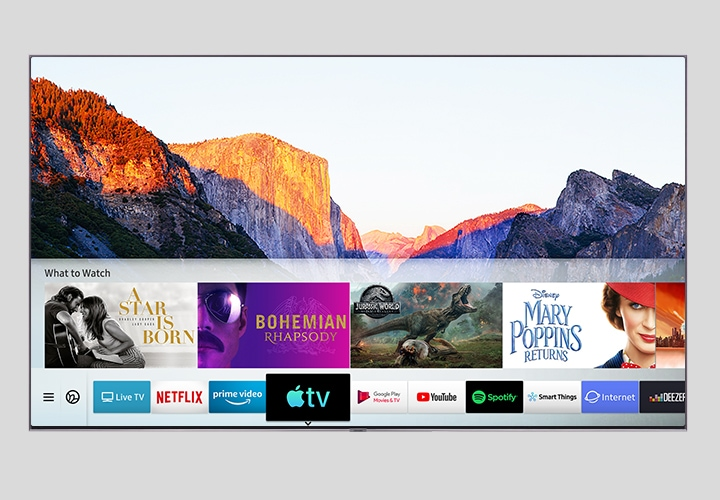 Samsung Smart TV meets the new Apple TV app